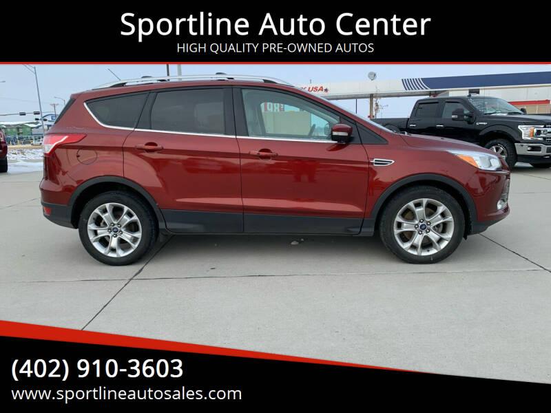 2014 Ford Escape for sale at Sportline Auto Center in Columbus NE