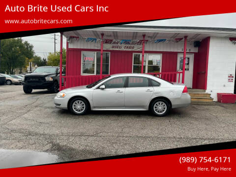 2010 Chevrolet Impala for sale at Auto Brite Used Cars Inc in Saginaw MI