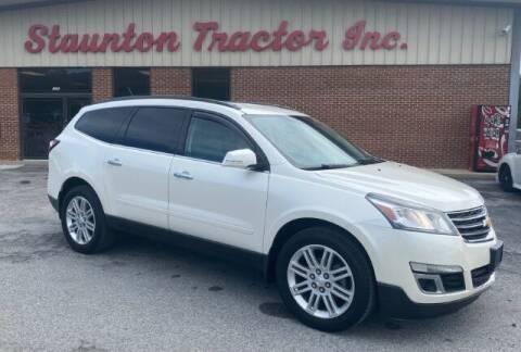 2015 Chevrolet Traverse for sale at STAUNTON TRACTOR INC in Staunton VA