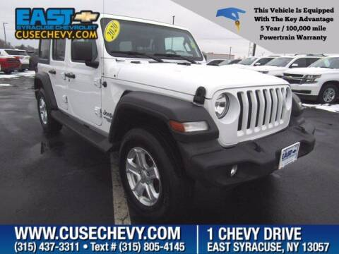 2020 Jeep Wrangler Unlimited for sale at East Syracuse Performance Sales & Service in Syracuse NY