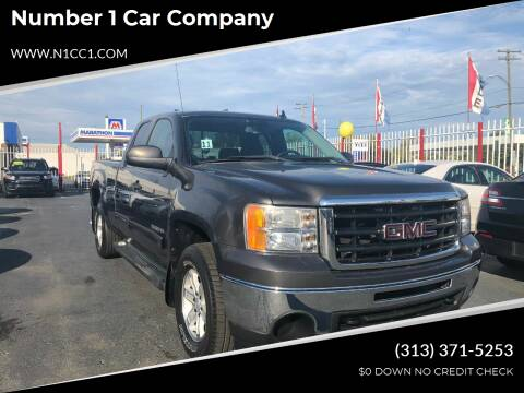 2010 GMC Sierra 1500 for sale at NUMBER 1 CAR COMPANY in Detroit MI