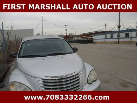 2006 Chrysler PT Cruiser for sale at First Marshall Auto Auction in Harvey IL