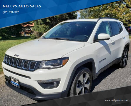 2018 Jeep Compass for sale at NELLYS AUTO SALES in Souderton PA
