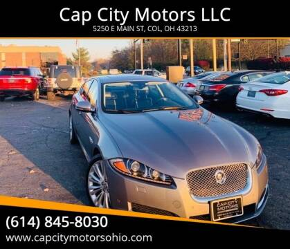 2012 Jaguar XF for sale at Cap City Motors LLC in Columbus OH