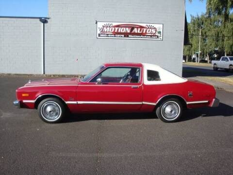 1976 Plymouth VOLARE for sale at Motion Autos in Longview WA