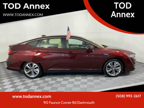 2018 Honda Clarity Plug-In Hybrid for sale at TOD Annex in North Dartmouth MA