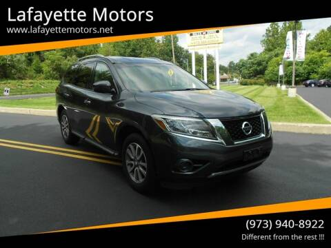 2013 Nissan Pathfinder for sale at Lafayette Motors 2 in Andover NJ