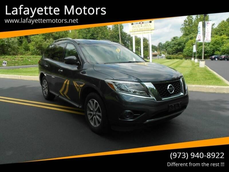 2013 Nissan Pathfinder for sale at Lafayette Motors 2 in Andover NJ
