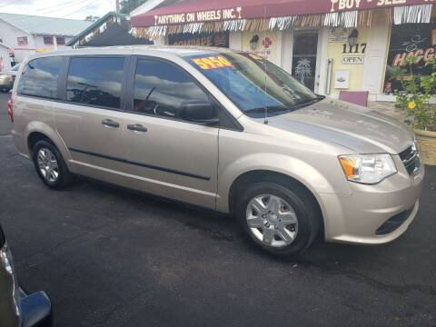 2013 Dodge Grand Caravan for sale at ANYTHING ON WHEELS INC in Deland FL
