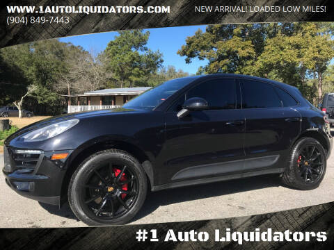 2015 Porsche Macan for sale at #1 Auto Liquidators in Yulee FL