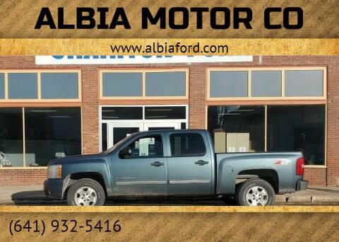 2010 Chevrolet Silverado 1500 for sale at Albia Motor Co in Albia IA