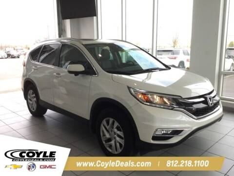 2016 Honda CR-V for sale at COYLE GM - COYLE NISSAN - New Inventory in Clarksville IN