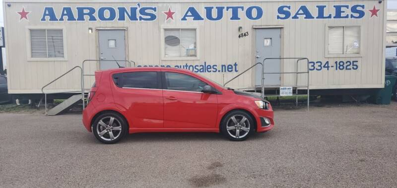 2013 Chevrolet Sonic for sale at Aaron's Auto Sales in Corpus Christi TX