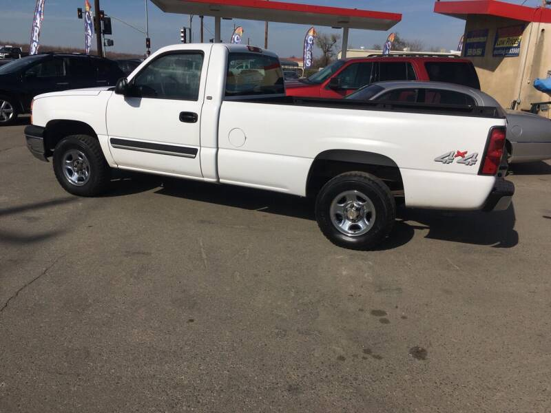 2004 Chevrolet Silverado 1500 for sale at CONTINENTAL AUTO EXCHANGE in Lemoore CA