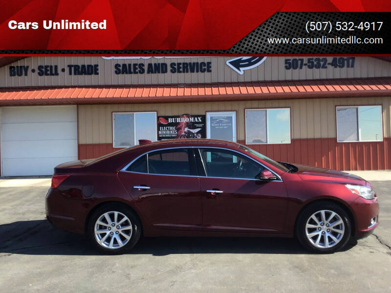 2016 Chevrolet Malibu Limited for sale at Cars Unlimited in Marshall MN