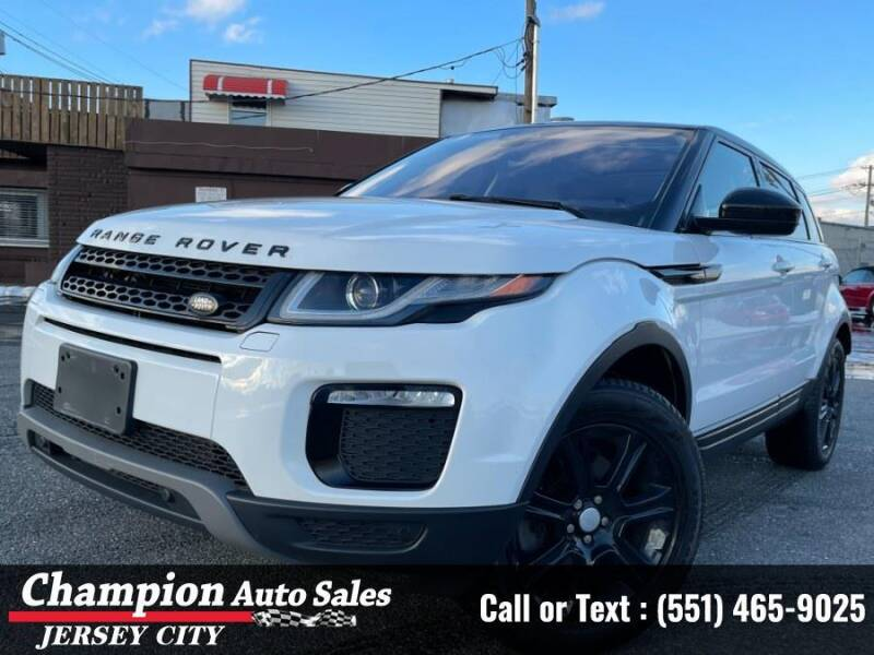 2017 Land Rover Range Rover Evoque for sale at CHAMPION AUTO SALES OF JERSEY CITY in Jersey City NJ