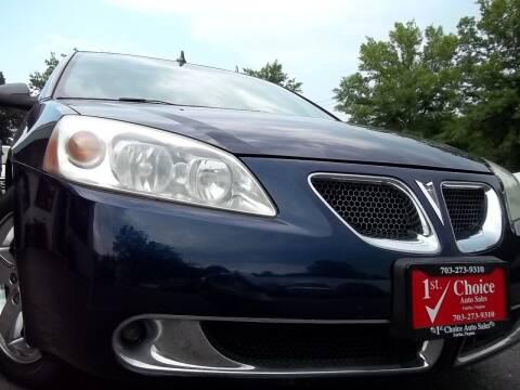 2009 Pontiac G6 for sale at 1st Choice Auto Sales in Fairfax VA