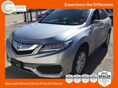 2018 Acura RDX for sale at Dallas Auto Finance in Dallas TX