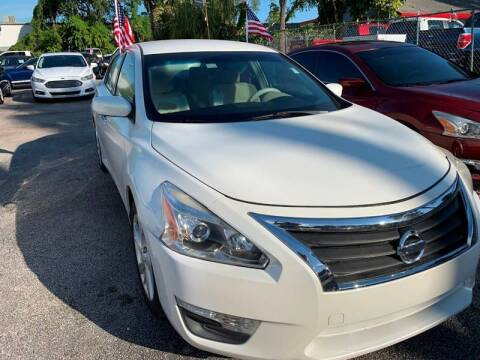 2013 Nissan Altima for sale at Roadmaster Auto Sales in Pompano Beach FL