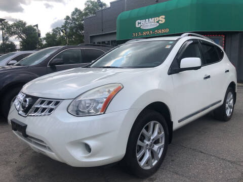 2012 Nissan Rogue for sale at Champs Auto Sales in Detroit MI