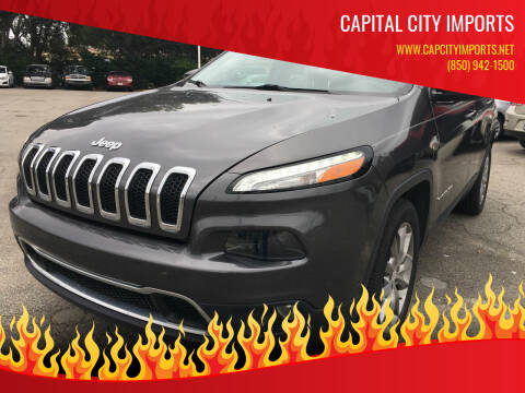 2018 Jeep Cherokee for sale at Capital City Imports in Tallahassee FL