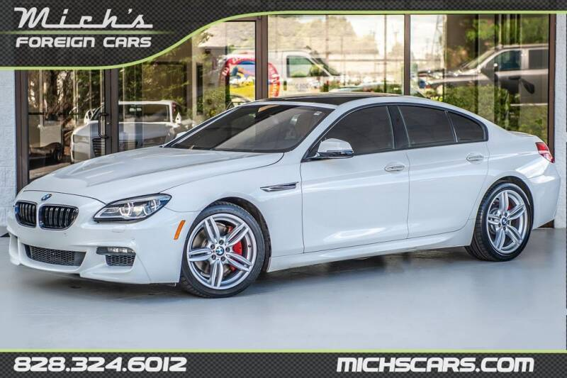 2016 BMW 6 Series for sale at Mich's Foreign Cars in Hickory NC