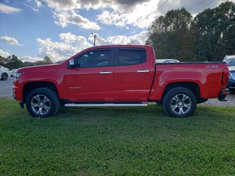 2019 Chevrolet Colorado for sale at 220 Auto Sales in Rocky Mount VA