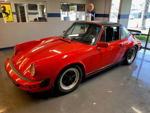 1985 Porsche 911 for sale at Gallery Junction in Orange CA