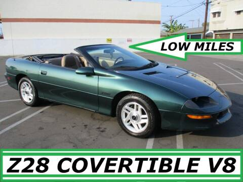 1995 Chevrolet Camaro for sale at ALL STAR TRUCKS INC in Los Angeles CA
