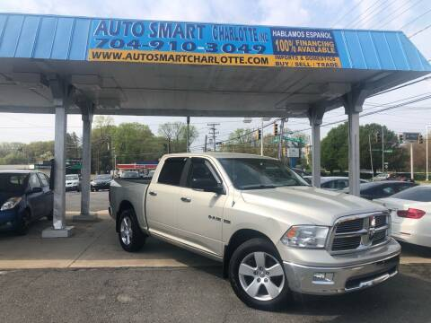 2010 Dodge Ram Pickup 1500 for sale at Auto Smart Charlotte in Charlotte NC