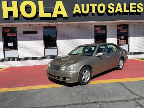 2000 Lexus GS 300 for sale at HOLA AUTO SALES CHAMBLEE- BUY HERE PAY HERE - in Atlanta GA