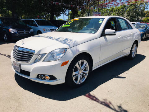2011 Mercedes-Benz E-Class for sale at EXPRESS CREDIT MOTORS in San Jose CA