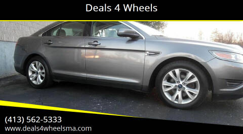 2012 Ford Taurus for sale at Deals 4 Wheels in Westfield MA
