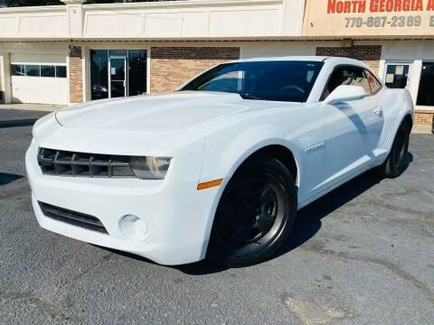2013 Chevrolet Camaro for sale at North Georgia Auto Brokers in Snellville GA