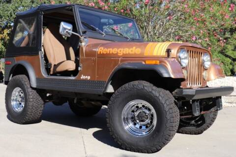 1980 Jeep CJ-7 for sale at SELECT JEEPS INC in League City TX