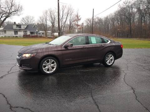 2015 Chevrolet Impala for sale at Depue Auto Sales Inc in Paw Paw MI