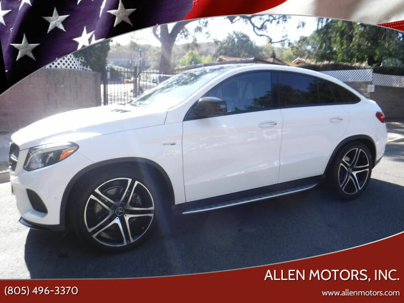 2019 Mercedes-Benz GLE for sale at Allen Motors, Inc. in Thousand Oaks CA