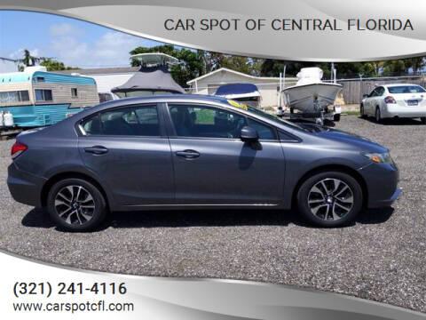 2013 Honda Civic for sale at Car Spot Of Central Florida in Melbourne FL