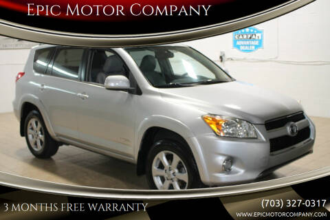 2010 Toyota RAV4 for sale at Epic Motor Company in Chantilly VA