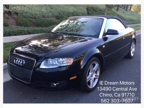 2007 Audi A4 for sale at IE Dream Motors in Upland CA