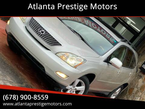 2007 Lexus RX 350 for sale at Atlanta Prestige Motors in Decatur GA