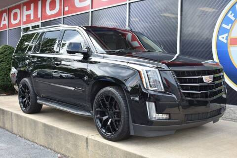 2016 Cadillac Escalade for sale at Alfa Romeo & Fiat of Strongsville in Strongsville OH