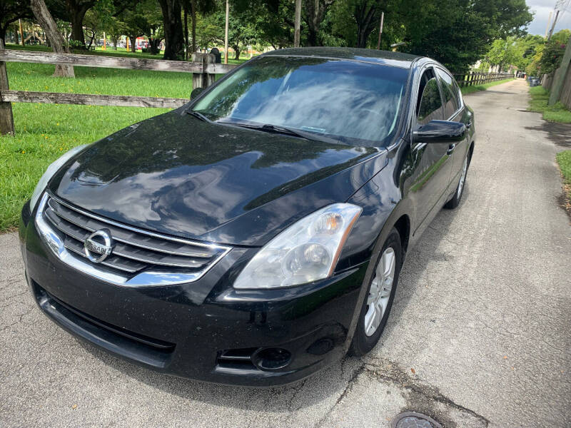 2011 Nissan Altima for sale at LESS PRICE AUTO BROKER in Hollywood FL