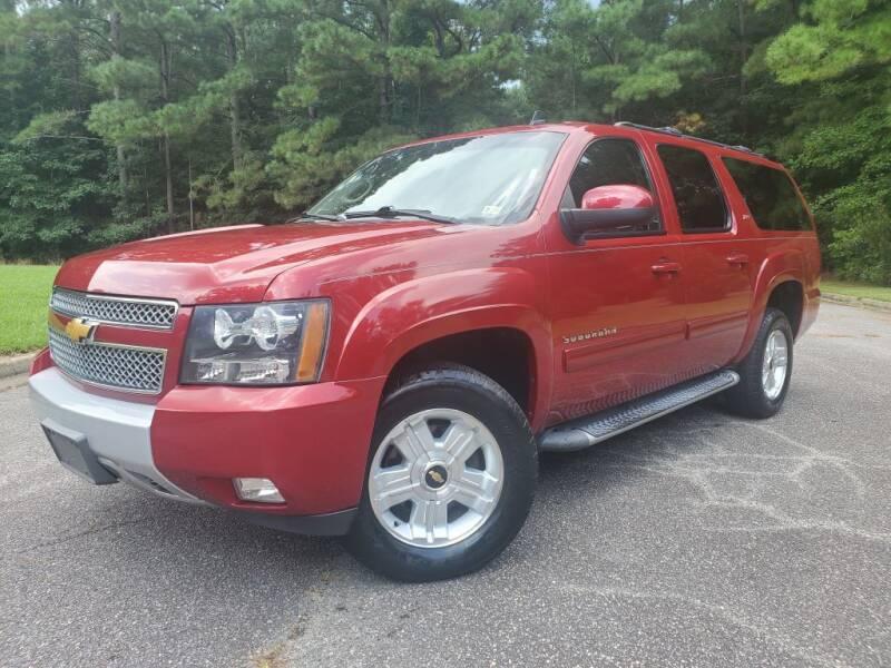 2014 Chevrolet Suburban for sale at TM AUTO WHOLESALERS LLC in Chesapeake VA