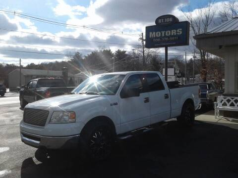 2006 Ford F-150 for sale at Route 106 Motors in East Bridgewater MA