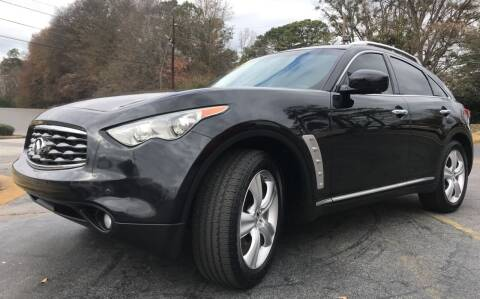 2011 Infiniti FX35 for sale at Peach Auto Sales in Smyrna GA