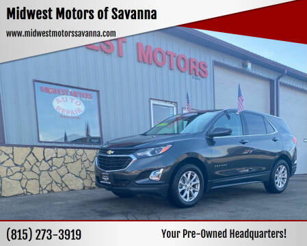 2020 Chevrolet Equinox for sale at Midwest Motors of Savanna in Savanna IL
