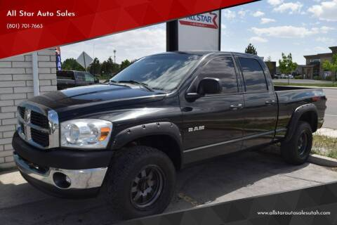 2008 Dodge Ram Pickup 1500 for sale at All Star Auto Sales in Pleasant Grove UT