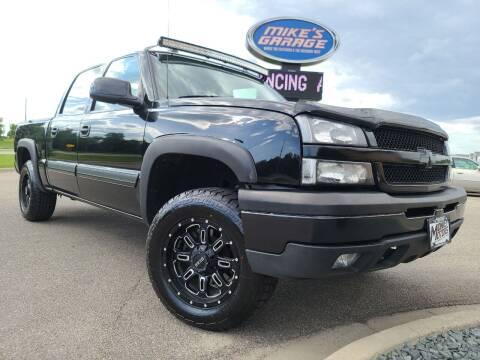 2005 Chevrolet Silverado 1500 for sale at Monkey Motors in Faribault MN