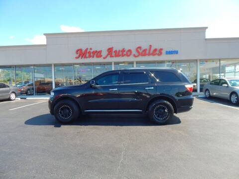 2013 Dodge Durango for sale at Mira Auto Sales in Dayton OH
